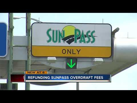 How to apply for a SunPass overdraft fee refund - YouTube