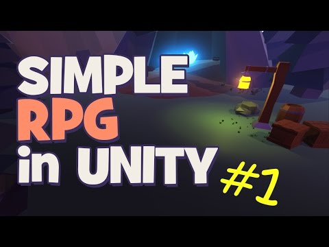 Level Design and Click to Move | Making a Simple RPG - Unity 5 Tutorial (Part 1)