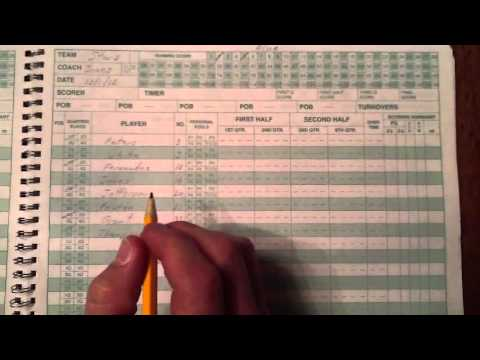 how to score using the clbl scorebook youtube