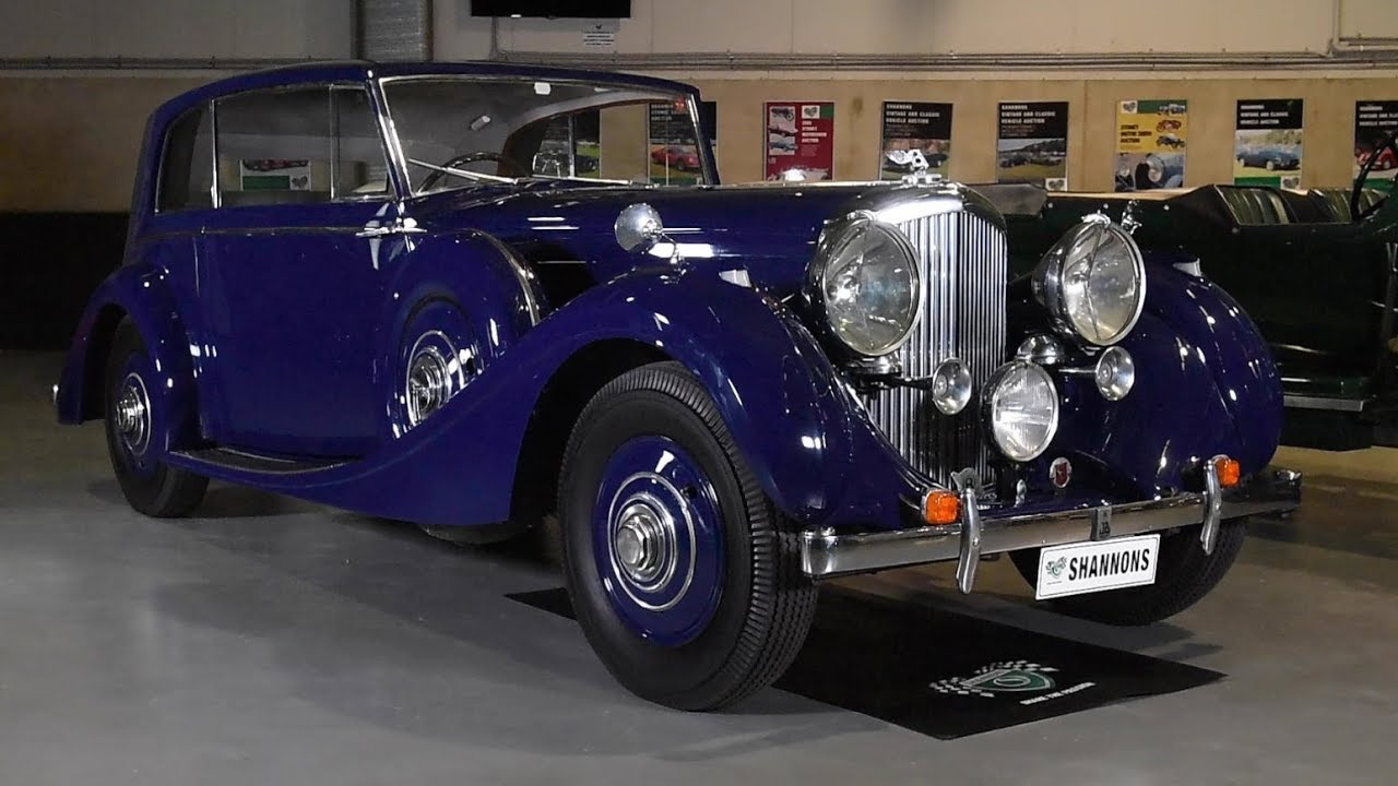 1939 Bentley 4¼ Litre James Young Fixed Coupe - 2018 Shannons Sydney Spring Classic Auction