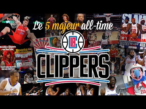 Clippers : le 5 majeur all-time de Los Angeles