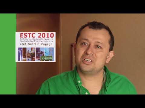 Oregon traveling - Alvardo Guzman Interview at the ESTC conference in Portland, Oregon