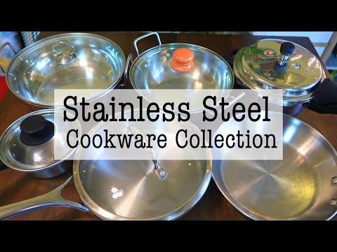 Stainless Steel Cookware Collection | Best Stainless Steel Cookware In India