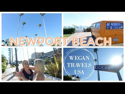 WEGAN TRAVELS CALIFORNIA: Newport Beach | VLOG