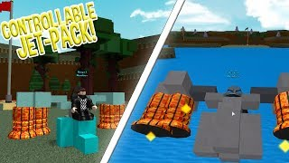 CONTROLLABLE JET-PACK!? | Build A Boat For Treasure ROBLOX