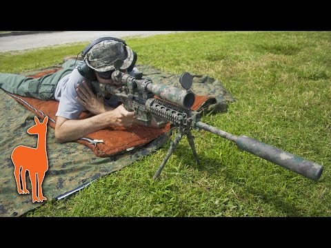Rifle Suppressor Test - How quiet is a silencer at 600 yards? (YHM Phantom) | The Social Regressive