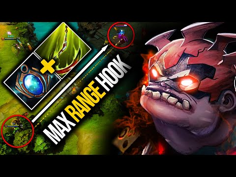 PERFECT MAX RANGE HOOK!!! MOST INSANE HOOKS BY LEVKAN PUDGE   Pudge Official