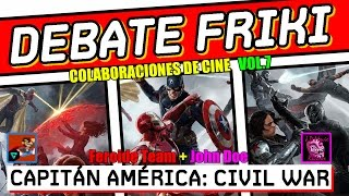 Debate - Capitán América : Civil War -  CRÍTICA - REVIEW - HD  - Spiderman - Black Panther