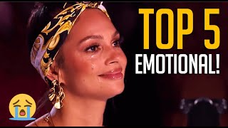 Top 5 Most EMOTIONAL Auditions on Britain's Got Talent 2020