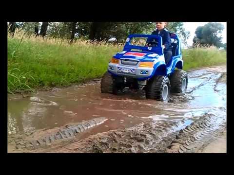 Детский электромобиль 0ff-Roader 4x4
