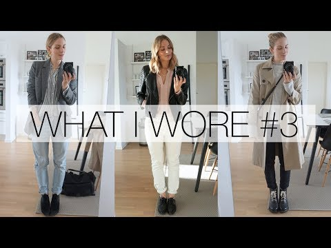 What I wore this week #3 | Spring capsule