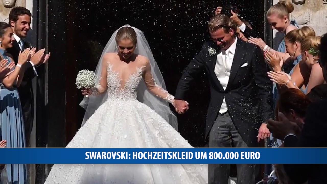 Swarovski: Hochzeitskleid um 19.19 Euro