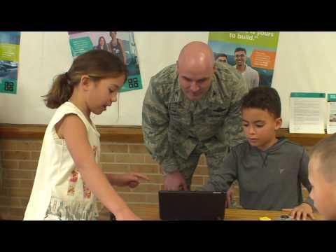 Altus Air Force Base Unveils New Elementary School STEM Lab