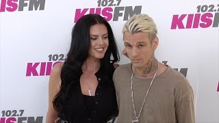 Aaron Carter and Madison Parker 102.7 KIIS FM