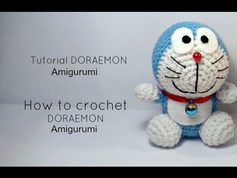 Amigurumi Doraemon Pattern : Tutorial doraemon amigurumi how to crochet doraemon amigurumi