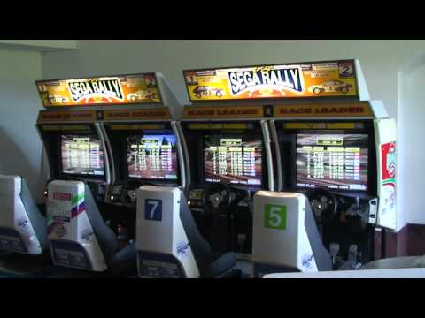 Sega Rally 4 players Attract Mode in HD