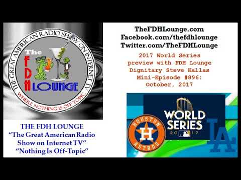 Mini-Episode #896 - October 2017 - 2017 World Series preview