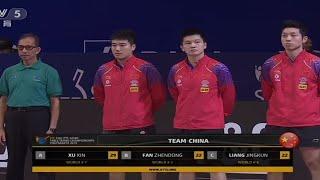 WTT 2021 World Table Tennis Team Championship Final Jepang VS China/Anis santosa official