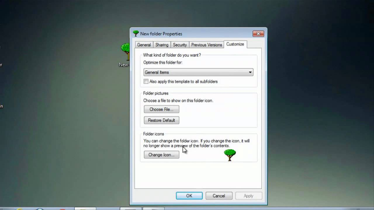 How to Change the Default Icons of Programs in Windows 7 : Internet & Tech  Tips