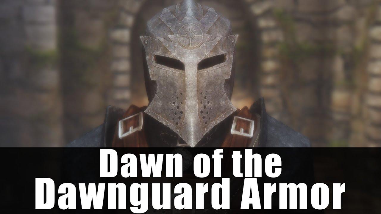 Skyrim Mods - Dawn of the Dawnguard Armor [4k/HD]