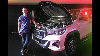 Desde la avant premiere, todo lo que hay que saber sobre la nueva versión con motor 4.0 de seis cilindros en V de la famosa pickup japonesa. #ToyotaHilux ...