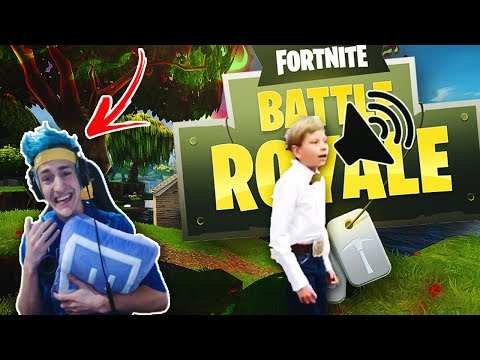 Ninja reacts to   Walmart Yodeling Kid REMIX  Fortnite Battle Royale