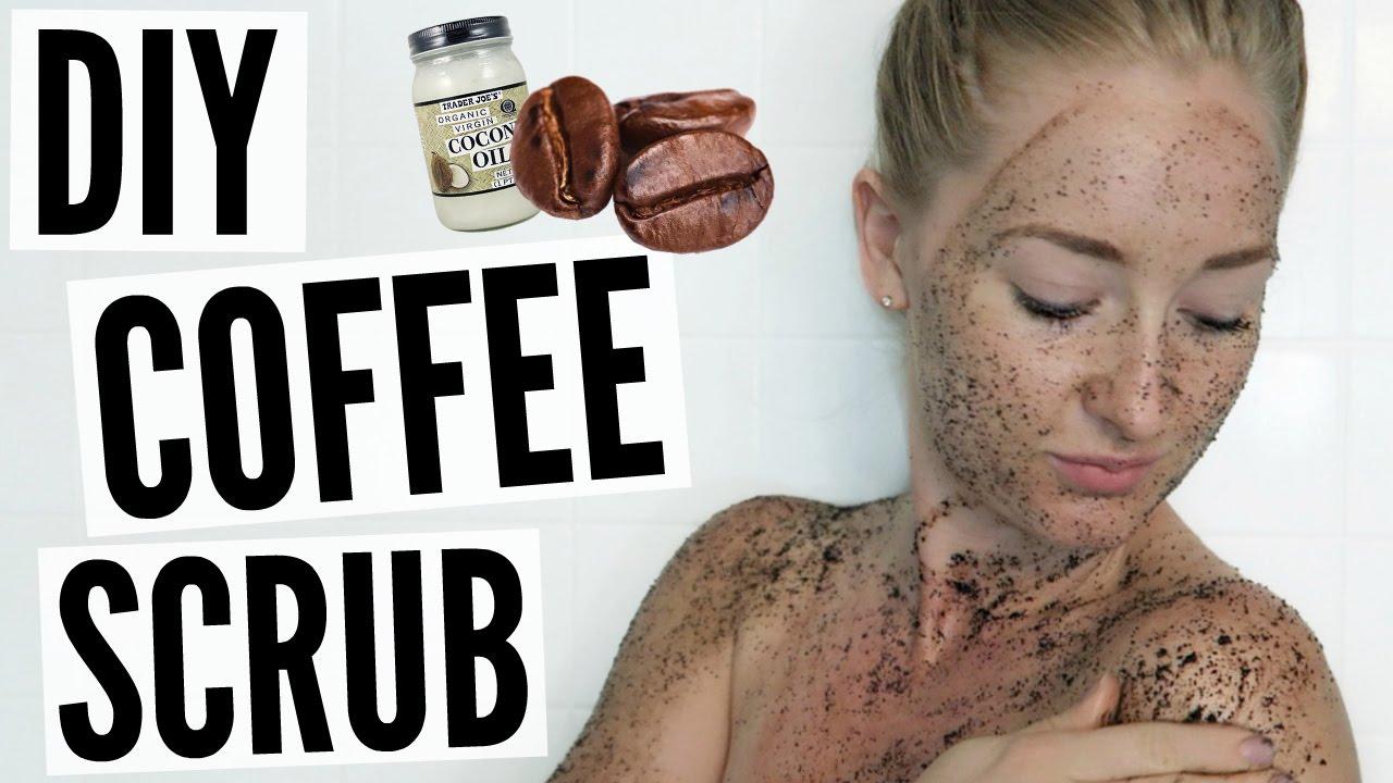 Diy Coffee Scrub Get Rid Of Body Acne Cellulite Youtube