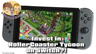 Investing in RollerCoaster Tycoon on Switch - #CUPodcast