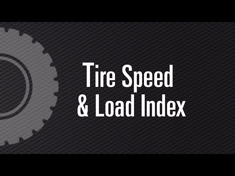 Tire Speed Rating & Load Index - CanadaWheels