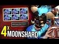 BASH LORD - Spirit Breaker 4x Moon Shard 7.07 Dota 2 | Upside Down 17