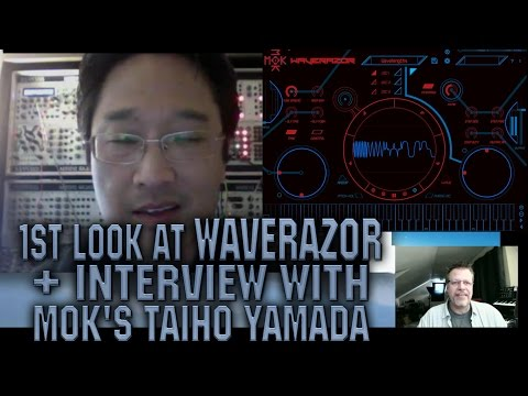 April 08, 2017 - FIRST LOOK @ WAVERAZOR & Interview with Taiho Yamada!!