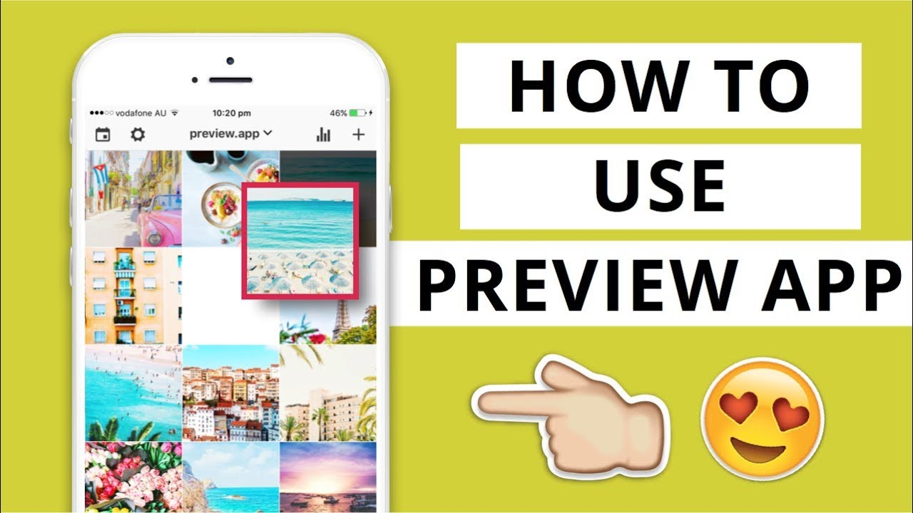 TUTORIAL: HOW TO USE PREVIEW APP TO SCHEDULE & PLAN YOUR INSTAGRAM ...