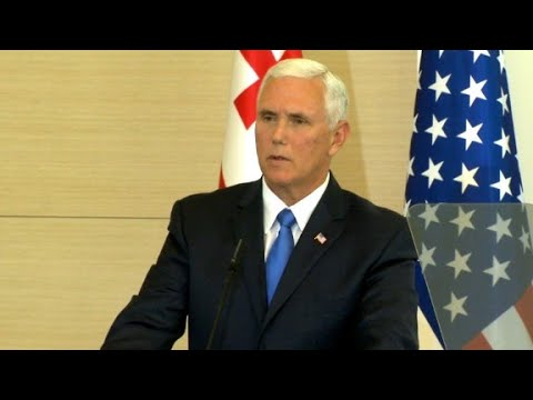Pence: Trump to sign Russian sanctions bill soon