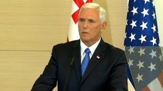 Pence  Trump to sign Russian sanctions bill soon