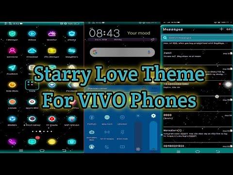 Starry Love Theme For Vivo Phones