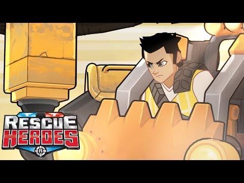 Rescue Heroes™ | Episodio 6 - El Momento De M.A.N.N.I.E Para Brillar | Serie Animada Para Niños