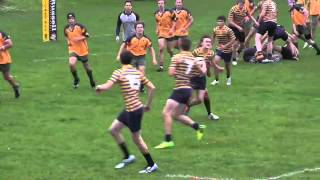 Collingwood Cavaliers vs. Central Coast Grammar School in exhibition rugby