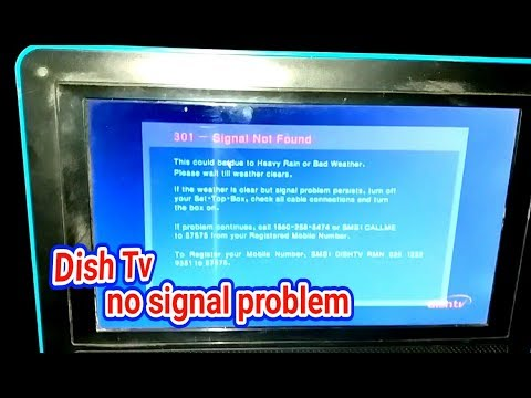 Dish Tv Setopbox no Signal Problem Solve, Signal install in  hindi