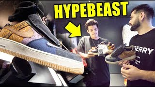 SHOPPING WITH THE BIGGEST HYPEBEAST IN LONDON!! *WHAT DID HE BUY*