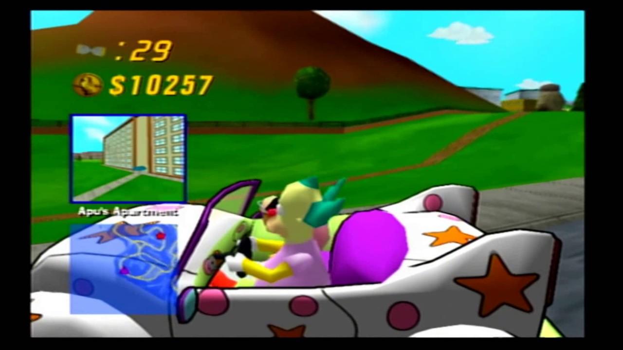 The Simpsons Road Rage (PS2) marathon part 1