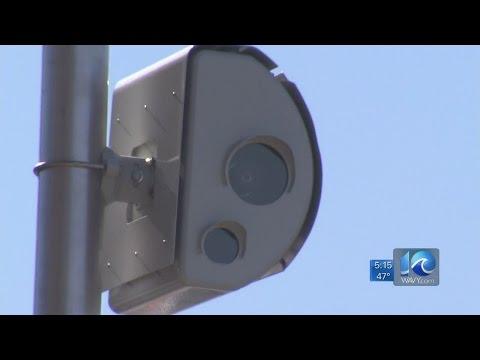 New red light cameras go live in Virginia Beach
