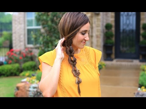 Double Bubble Fishtail Braid | Cute Girls Hairstyles