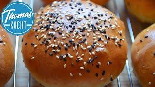 Burger Brötchen / Geniale Brioche Burger Buns