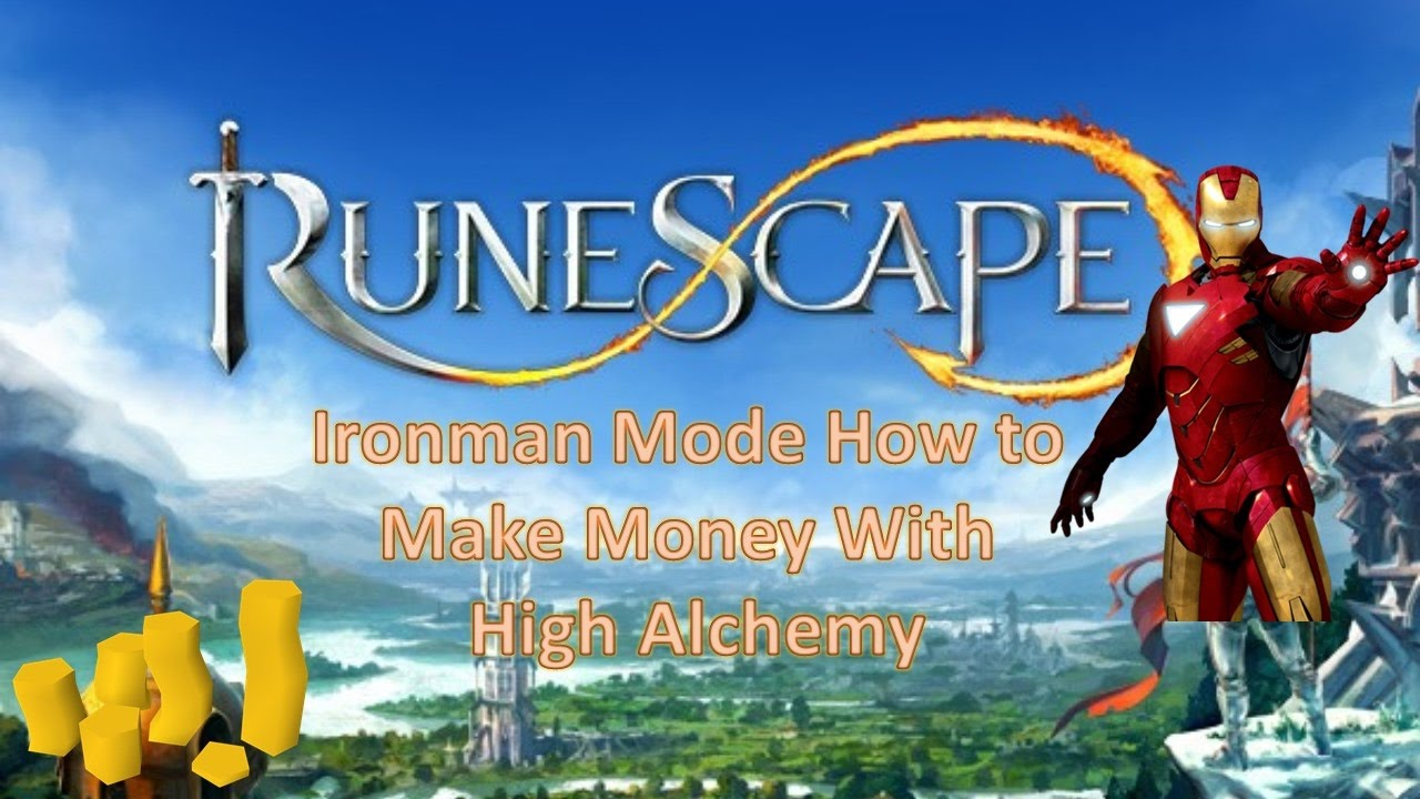 how to make money on ironman without high alaching