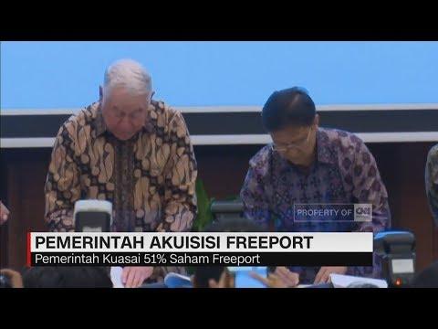 Cover Lagu Presiden Jokowi Apresiasi Pemerintah Akuisisi Freeport | CNN ID UPDATE HITSLAGU