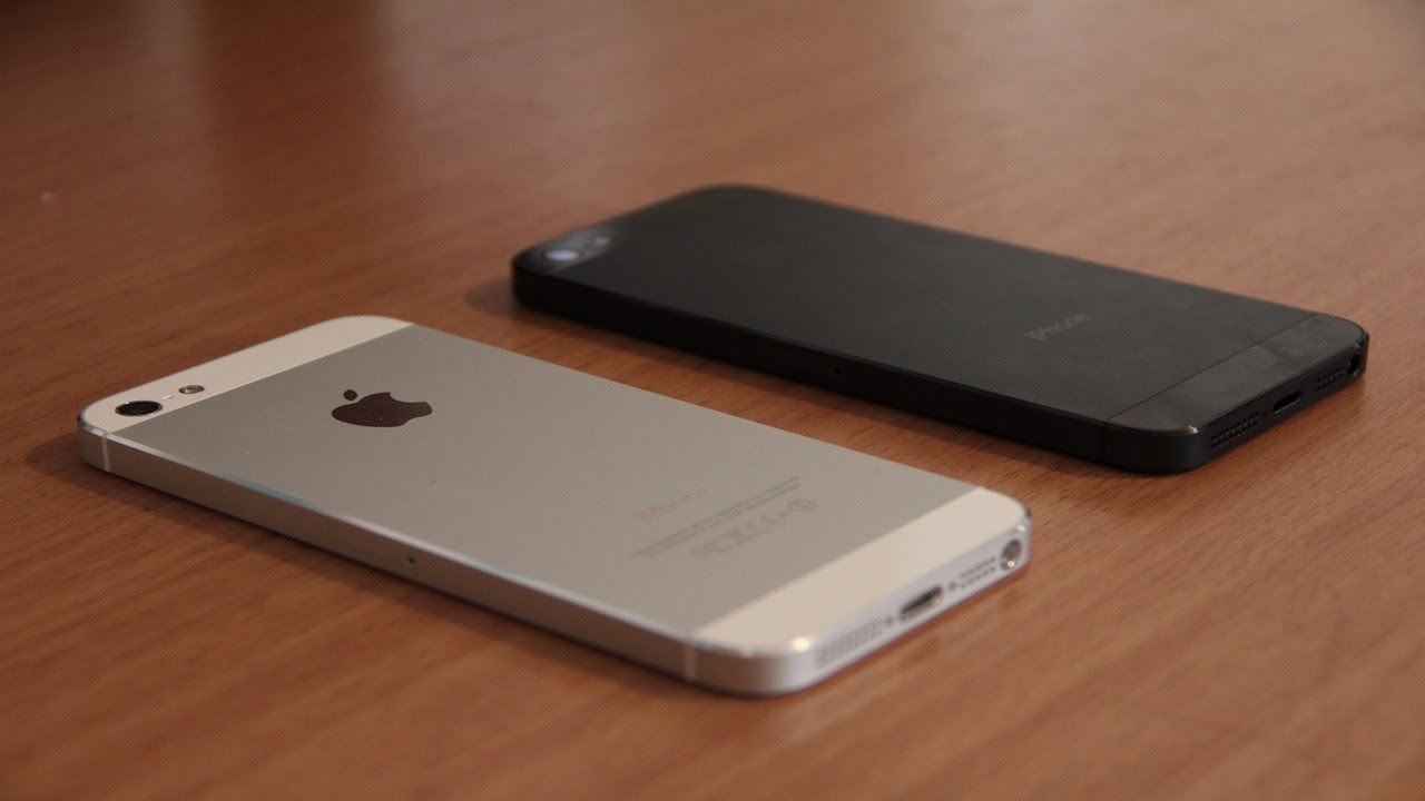 IPhone 5 White Or Black