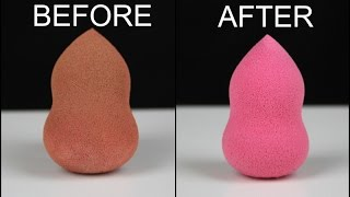 Hi everyone! hope you all are well :) after my last video showing how i clean makeup brushes got lots of questions about sponges. so ...