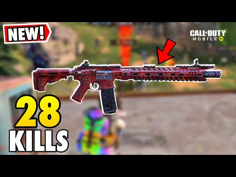*NEW* M4- MAGMACOMB SKIN!   CALL OF DUTY MOBILE BATTLE ROYALE