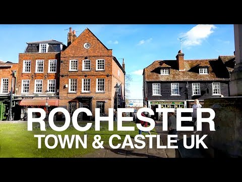 Historic Rochester, England - Dickens, castles and cathedrals in this atmospheric walk