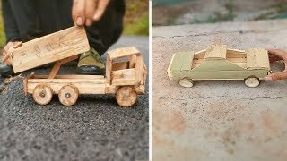 Oddly satisfying 12 Creative item handcraft make from wood & bamboo